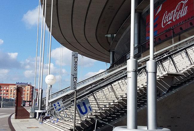 Réalisation de façade pour le Stade de France à Saint-Denis