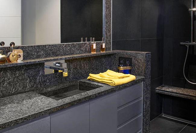 Création salle de bain pour particulier
